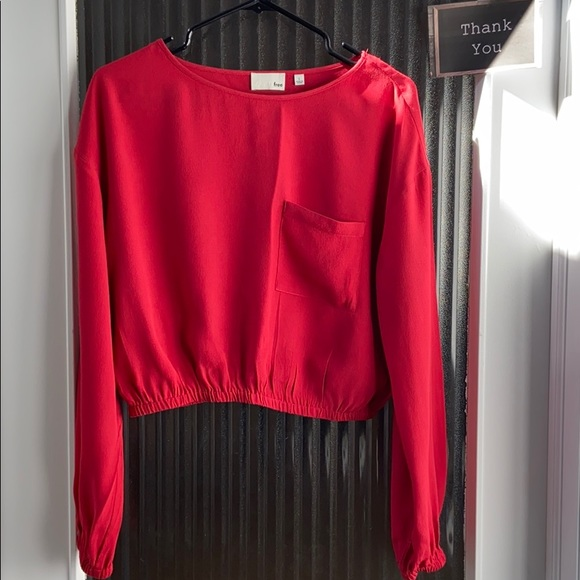 Wilfred Free Red blouse